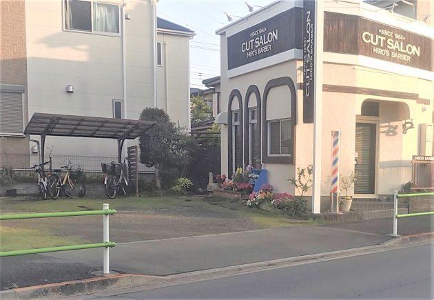 ヒロズバーバー薬師通りの駐車場の画像